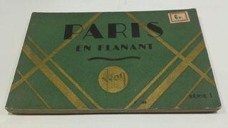 Lote de postales Paris en flanant