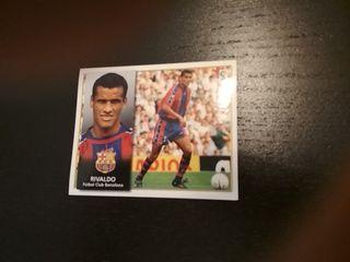 Cromo Rivaldo Fc Barcelona Liga 98-99