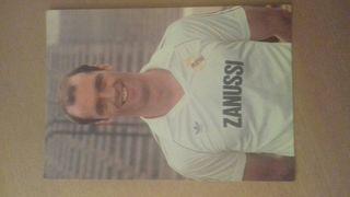 Postal real Madrid 83/84