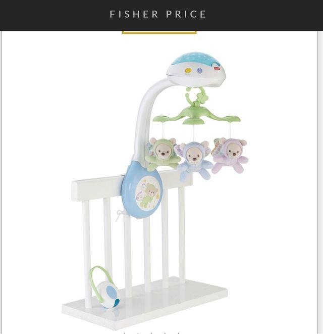 Móvil proyector cuna Fisher Price