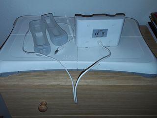 Tabla balance accesorio wii con 2 fundas y soporte