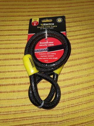 Cable de seguridad Sterling de bucle doble
