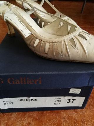 Zapatos de mujer blanco Boda o Fiesta - Talla 37