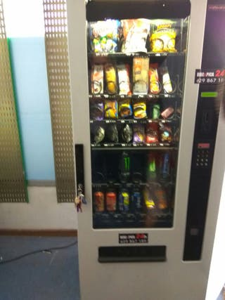 Maquina vending impecable!