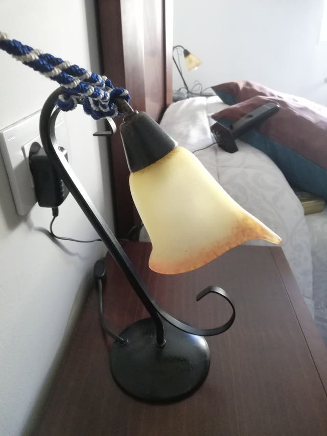 juego de lámparas