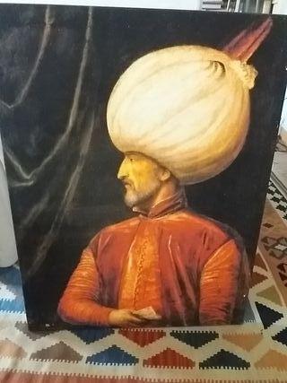 Cuadro retrato de Sultán