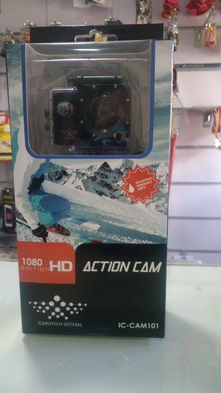 Cámara deportiva ACTION CAM HD1080 - NUEVA