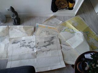cartas navegacion antiguas