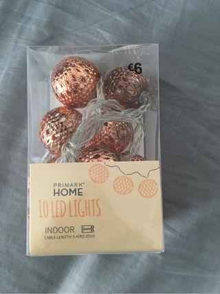 Guirnalda luces 10led