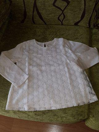 Camiseta niña zara.