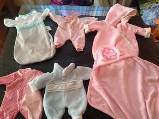 lote ropa muñeco bebé