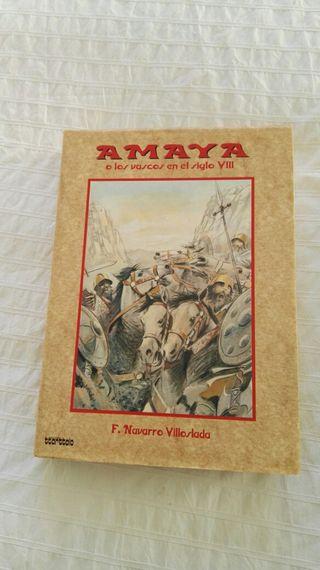 libro Amaya
