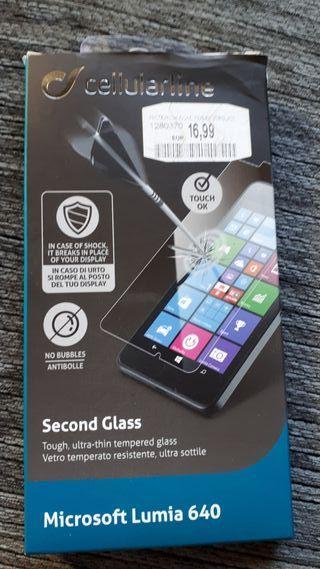 cristal templado marca celular line, nuevo