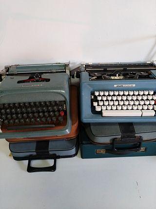 6 máquinas de escribir