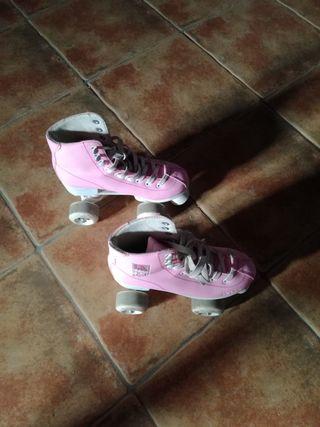 patines de entrenamiento con