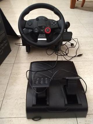 PS3 + volante + juegos