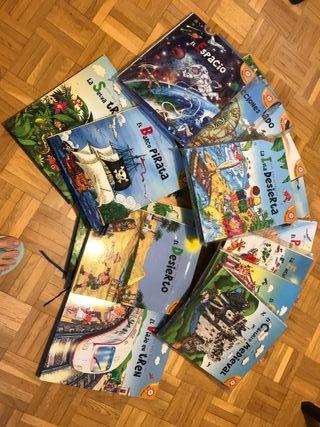 Libros para jugar desplegable