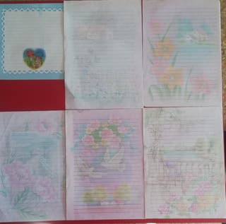 Cartas perfumadas