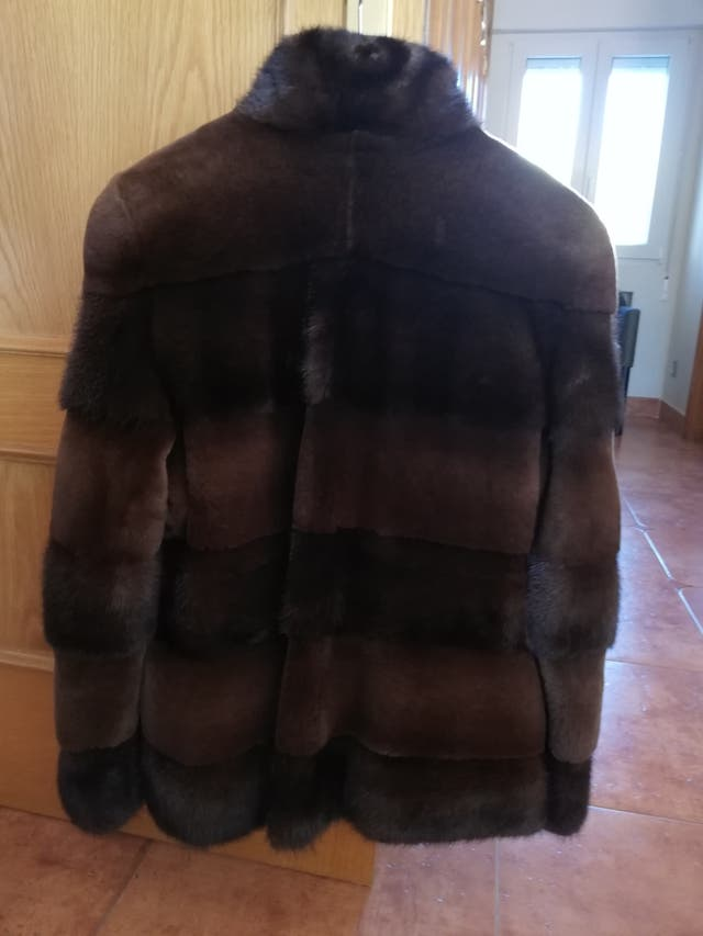 abrigo de visón