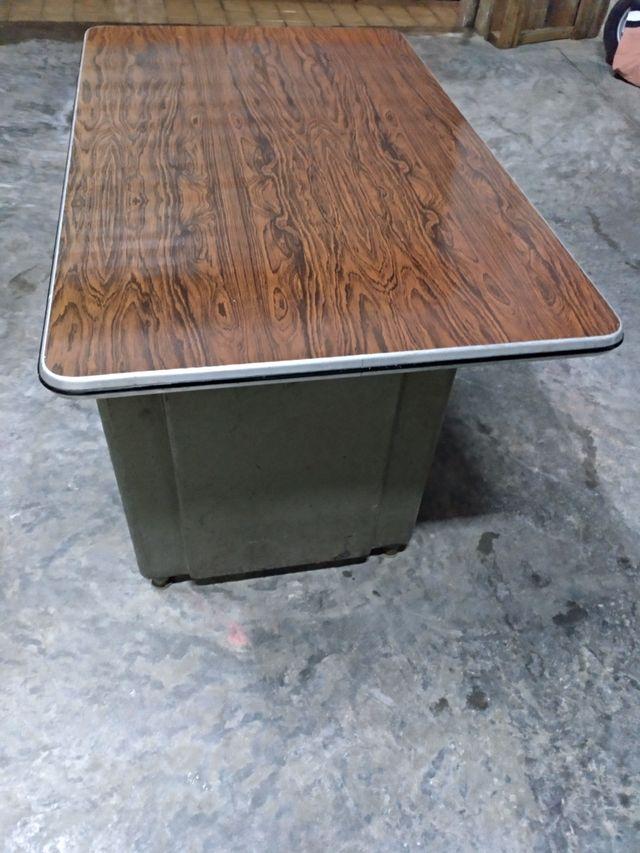2 mesas de oficina actiguas . precio por mesa. de segunda mano por ...