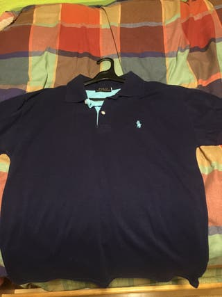 fb3d232a1ccd8 Polo Ralph Lauren azul de segunda mano en Alcorcón en WALLAPOP