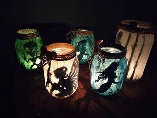 LAMPRAS FANTASIA HADAS SIRENAS