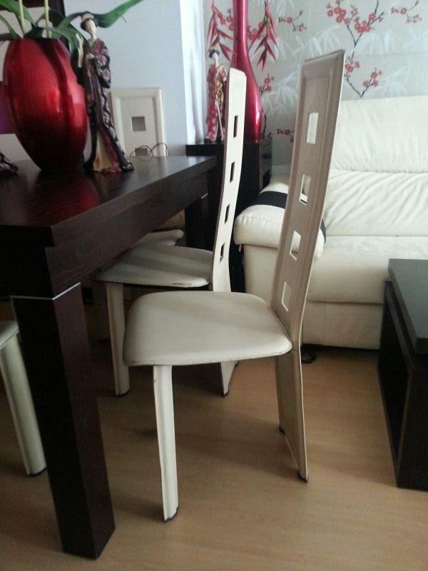 5 sillas diseño comedor urb, la roca de segunda mano por 50 € en ...