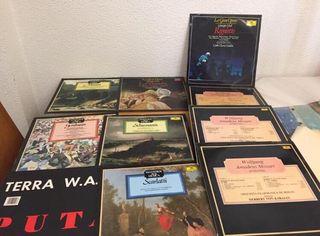 Discos de vinilo de música clásica