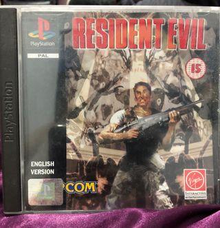 Resident Evil PlayStation
