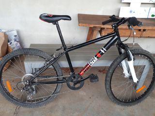Bicicleta RockRider de niño.