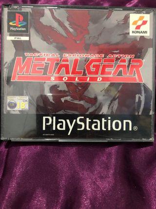 MetalGear Solid PlayStation