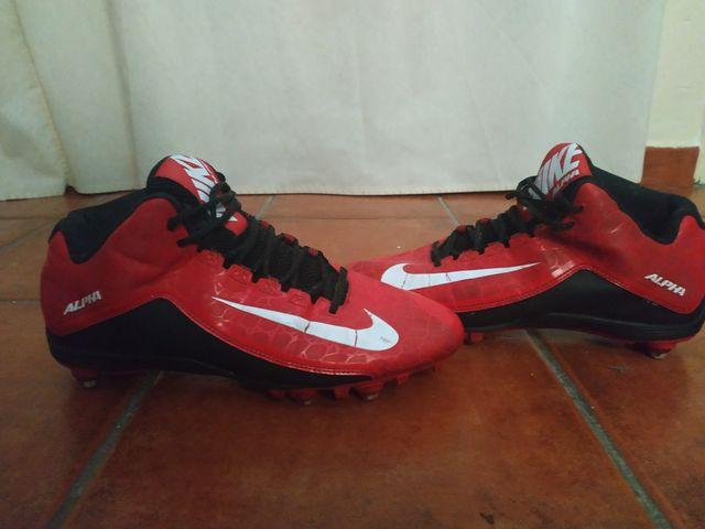 a41cc7ff44dee Botas Futbol Americano - Nike Alpha Strike de segunda mano por 45 ...