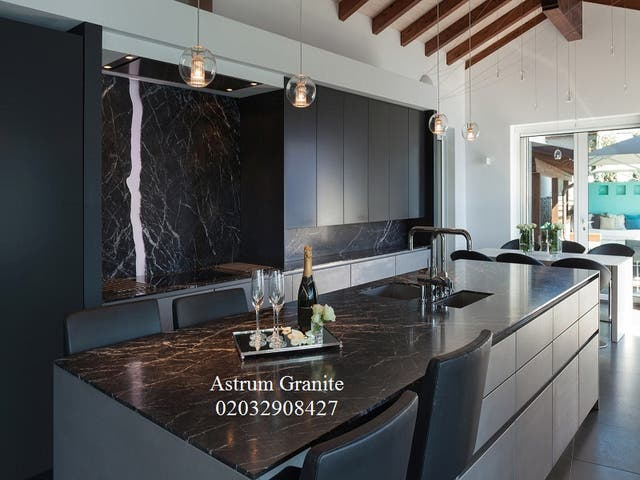 Arabescato Orobico Marble Kitchen Worktop London