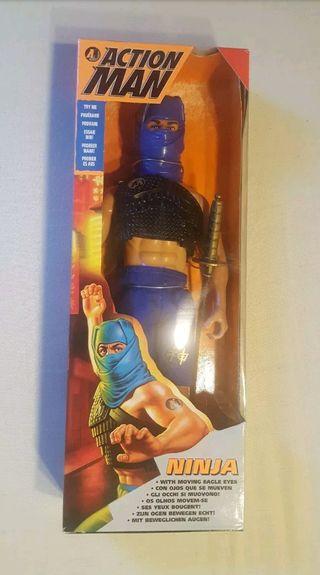 Muñeco Action Man Ninja en Caja Nuevo
