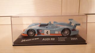 Audi R8 Gulf. Maqueta 1:43