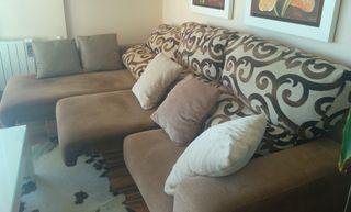 sofá 3 plazas más chaislongue