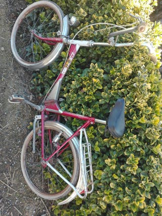 bicicleta BH plegable antigua