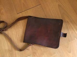 Bolso de cuero vintage