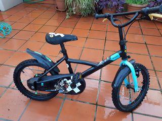 "bici niño 16 "" pulgadas"