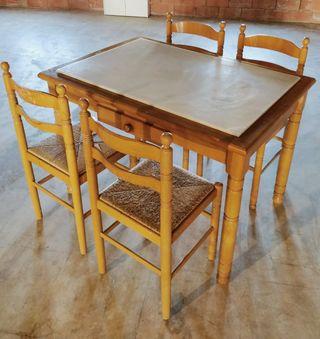 Sillas de madera cocina de segunda mano en valencia en for Sillas madera segunda mano