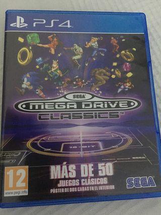 Megadrive classics PS4