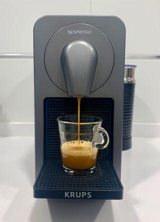 Cafetera Krups Prodigio & Milk Titanium