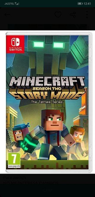 minecraft story mode 2 Nintendo swicht