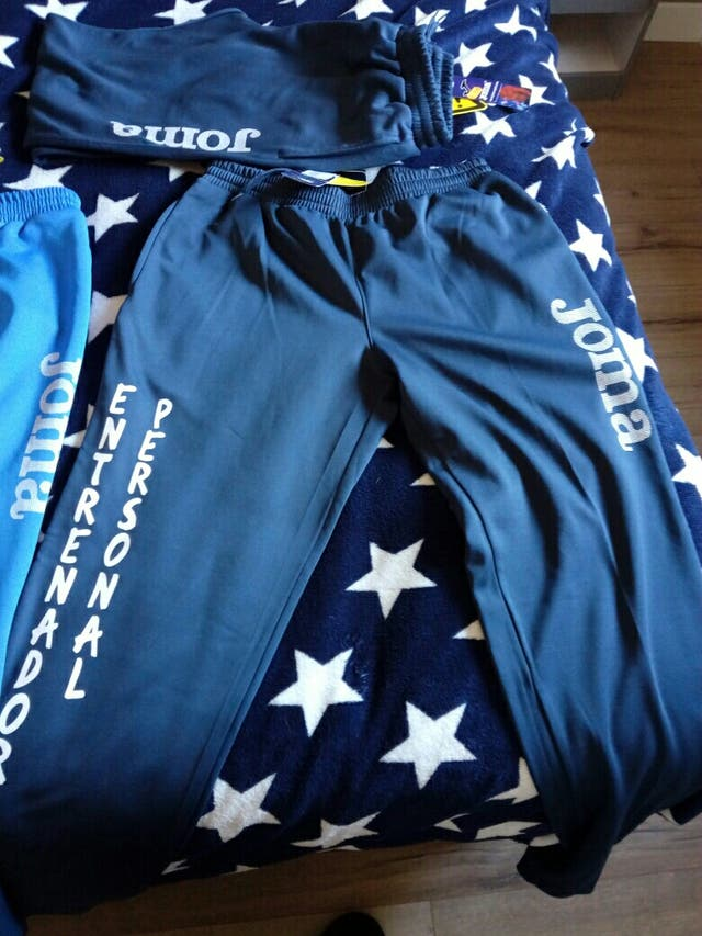 5 Pantalones joma, serigrafia entrenador personal