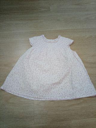 vestido HM 12-18 meses