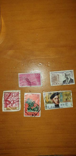 lote 5 sellos