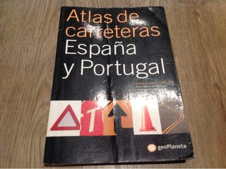 ATLAS DE CARRETERAS DE ESPAÑA Y PORTUGAL