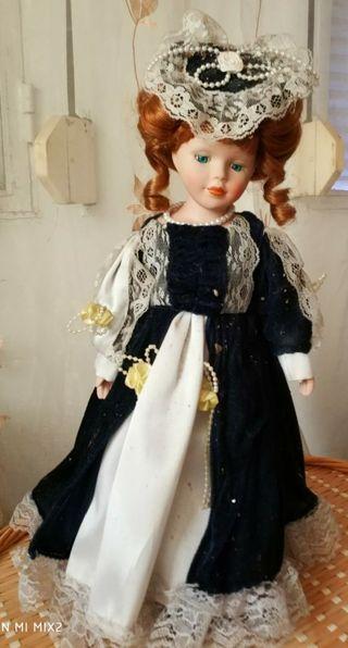 muñecas antiguas porcelana