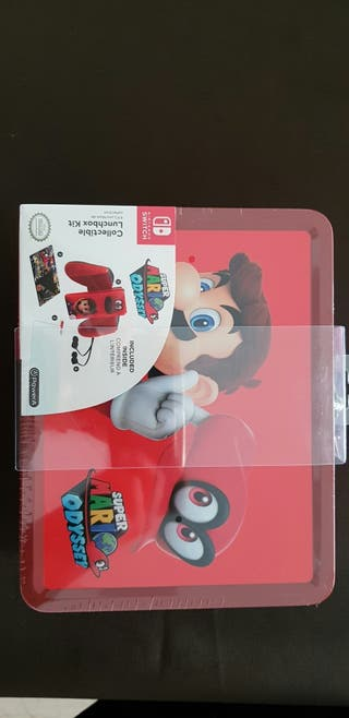 collectible lunchbox kit super mario odyssey