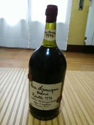 Botella Armagnac 1976. 2 litros y medio